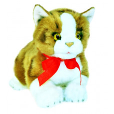 Ginger Tabby Plush Kitten